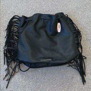 NWT Victoria's Secret Adjustable Fringe Backpack